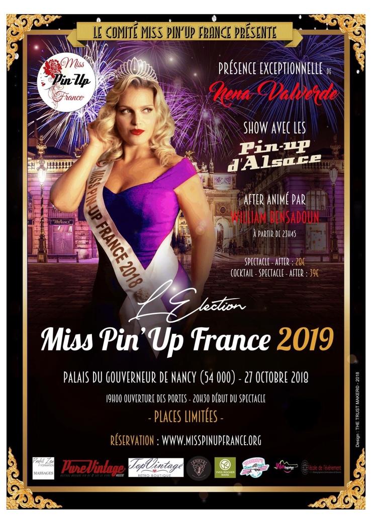 4cf0ce2d8d42 Miss Pin Up France 2019 – PUL P