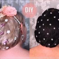 Tuto accessoires : un filet à cheveux de star!